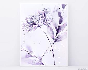 Abstract floral watercolor, floral watercolor art,  pink abstract wall decor, abstract watercolor painting, monochrome art, monochrome print