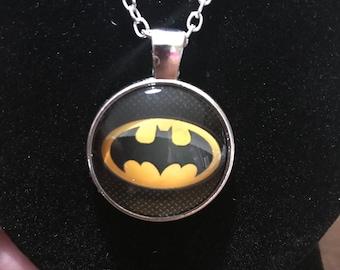 Batman Pendant Necklace