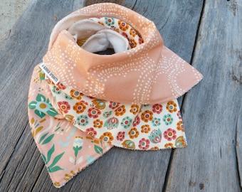 Bandana bibs, Organic baby bibs, baby girl gift, Teething bib, Drool Bib, Cotton bandana bib, Organic baby,Organic baby gift,Modern baby bib