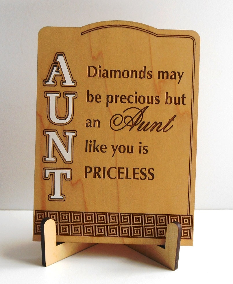 Aunt Valentine Gift Aunt Mothers Day Greetings Aunt