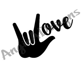 Love - ASL I Love You Hand