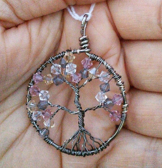 "Customizable ""Tree of Life"" or Family Tree Pendant"