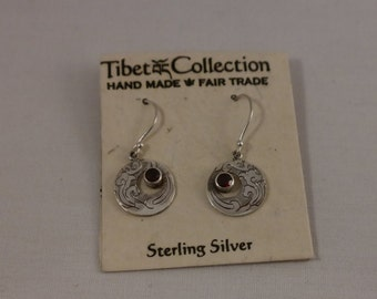 Tibet Collection  Fair Trade Sterling Silver Earrings