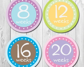 Pregnancy Stickers, Maternity Stickers, Baby Bump,  Belly Bump, New Baby Stickers, Mom to Be, pregnant belly, Weekly Pregnancy Stickers