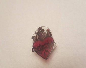 Sacred Heart pin