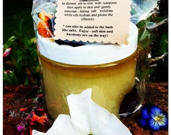 Wise Woman Bless My Body Polishing Scrub (in 16oz plastic jar)