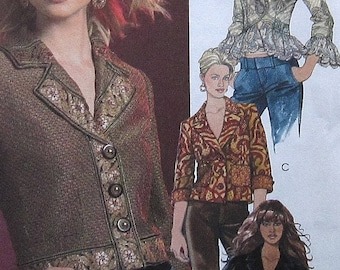 Jacket Sewing Pattern UNCUT McCalls M5176 Sizes 4-10
