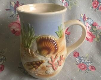 Vintage Otagiri Sea Shell Mug