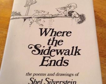 1974 Where the Sidewalk Ends, Shel Silverstein