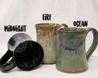 Martindale Pottery Hourglass Mug