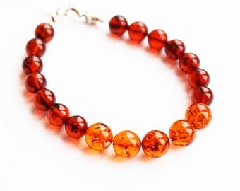 Handmade Baltic Amber bracelet, 9g