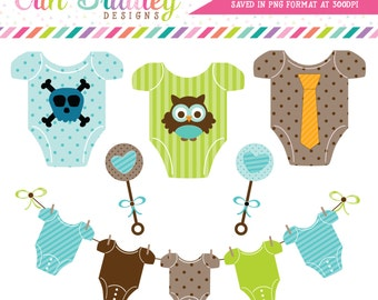 Baby Boy Tees Clipart Commercial Use Nursery Clip Art Graphics