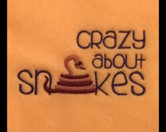 Snake Blanket - Crazy about Snakes Ubby