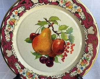 Vintage Daher Decorative Tin Plate