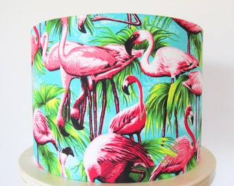 Tropical Flamingo Lampshade
