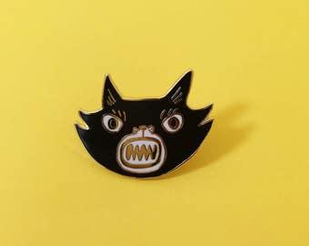 Cat Lapel Pin