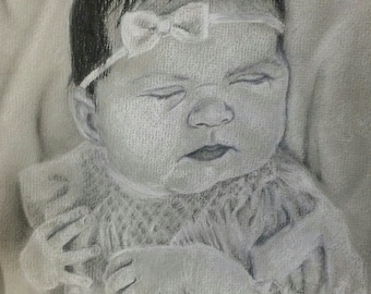 Custom Children's Portrait Drawings