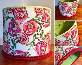 Handmade Floral Lampshade