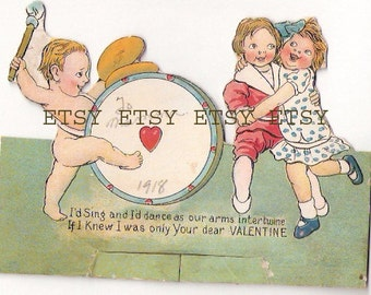 Valentine Greeting From 1918.