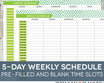 Printable Weekly Planner With Hours Seroton Ponderresearch Co