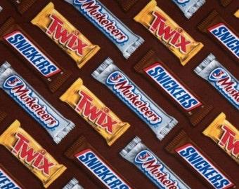 Candy bar fabric