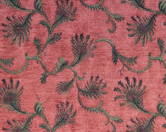 Corinth Fern Jacquard Woven Floral Upholstery Fabric
