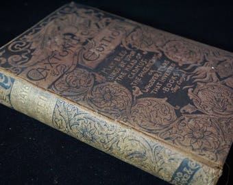 Rare Antique 1886 Book - The Last Days of Pompeii (Caxton Edition) - Late 19th Century (1800's) - Victorian/Edwardian Era