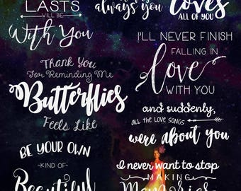 Photography overlays, Editing Overlay, Word Overlays, Photographer Overlay, transparent overlay, word art, Love Quote, Love Quote Overlay