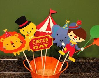 6 Piece Circus Centerpiece