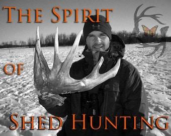 Shed Antler Hunting DVD - Antlers - Shed antlers - Deer Antlers - Shed Hunt - Antler Hunting