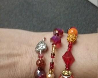Charm Bracelet Wrap Cuff