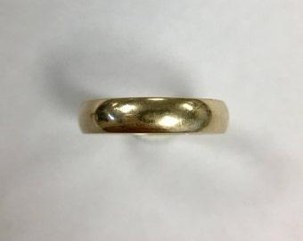 Wedding ring stacking band 10k Gold Size 7