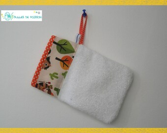"""washcloth """"Indian"""" for babies and young children"""