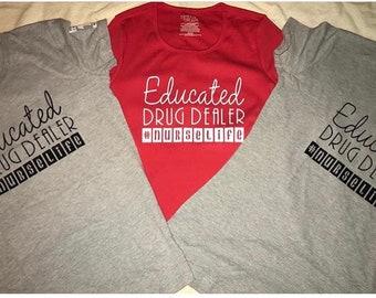 Nurse life shirts