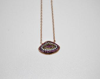 Evil Eye Necklace, Turkish charm Necklace, Turkish necklace,  İstanbul jewelry, Grand bazaar