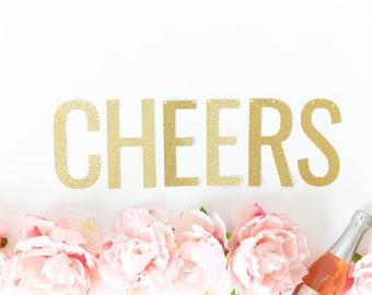 Cheers Banner - New Year Banner, Party Banner, Engagement Banner, Birthday Banner Decor