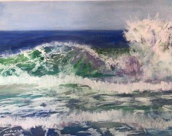 Waves 3- Fine Art Giclee