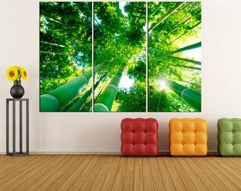 Forest photo print wall art canvas,  wall decoration, canvas art, canvas print, canvas wall art, extra large wall art, fine art print  1s31