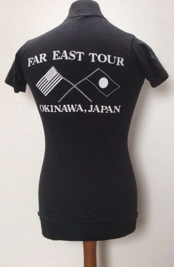 1987 3D Paper U Thin in Shirt Soft A EMBLEM Vintage Made S HFqrH