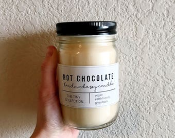 HOT CHOCOLATE // all natural soy candle