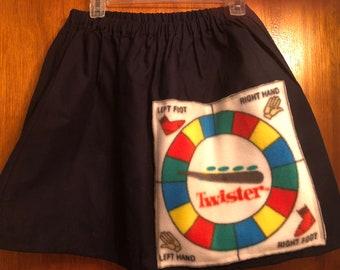 Twistin Twister game patch  skirt