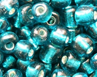 Bag of 20G of 4.1 mm CAPRIE BLUE color seed beads