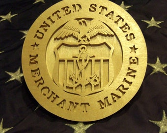 United States Merchant Marine Plaque