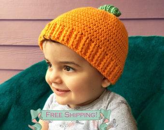 Halloween hat, Halloween costumes, Halloween baby hat, Halloween baby costumes, Crochet baby hat, crochet hat, crochet pumpkin hat