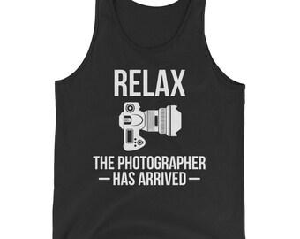 Photographers Photography Camera Lovers Cameraman Tank Top
