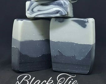 Black Tie Handcrafted Soap