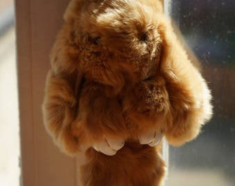 Bunny plush 21cm 100% handmade