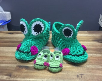 Frog Boots Adult sizes