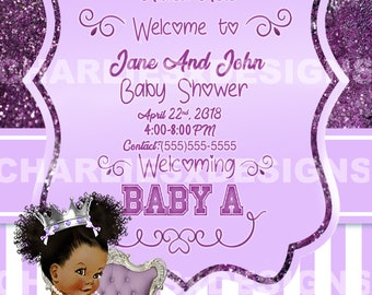 Lavender Baby Shower