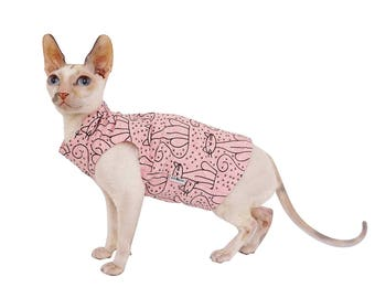 Kotomoda CAT WEAR T-shirt Rose Cat